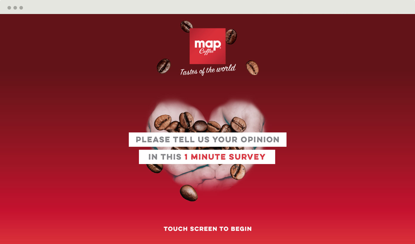 Map Coffee Customer Survey